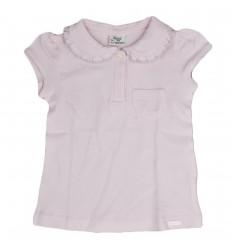 Camiseta mayoral con cuello-Rosada