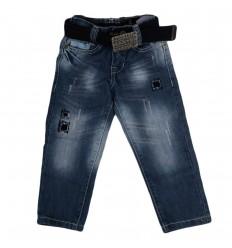 Jean para niño-azul