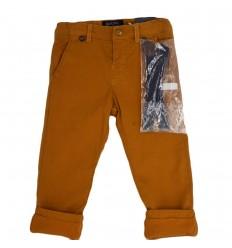 Pantalon en pana para niño-caramelo