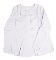 Camisa en prenses mayoral-azul