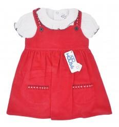 Vestido con body para bebé