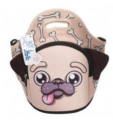 Bolso lonchera diseño de perrito