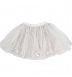 Falda tutu para niña-gris