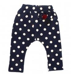 Pantalon sudadera para niña-azul