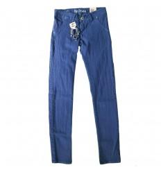 Jean para dama - azul rey