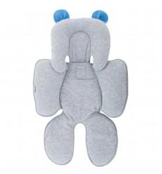Protector cabeza y espalda-orejas azules