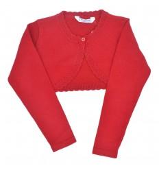 Torero manga larga mayoral-rojo