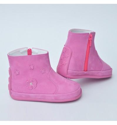 Botas para bebé rosada