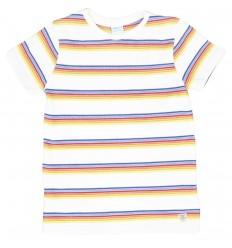 Camiseta mayoral para niño- a rayas