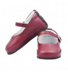 Zapato no tuerce trabilla- Rojo Vino