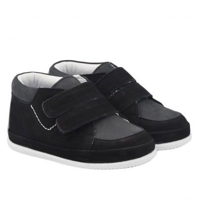 Zapato no tuerce nobuck - Negro