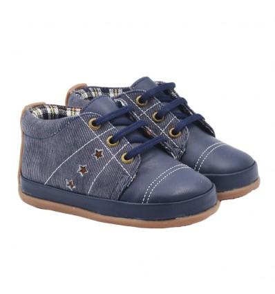 Zapato no tuerce- Azul Mestizo