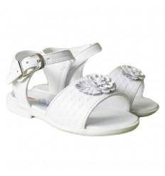 Sandalias para niña- blancas