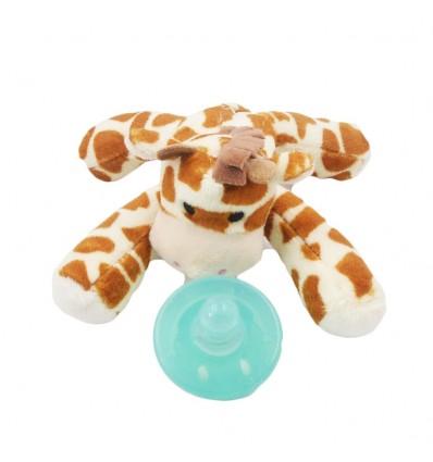 Chupo de entretencion con muñeco jirafa