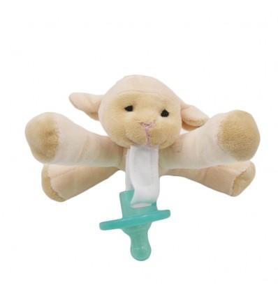 Chupo de entretencion con muñeco- Oveja