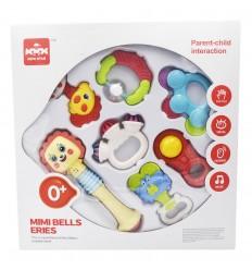 Set de sonajeros X 7 para bebes