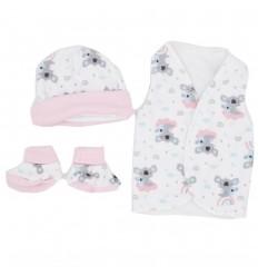 Set de ropa para bebé prematura-Koala