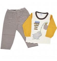 Pijama dos piezas para niño-Elefante