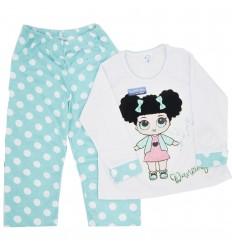 Pijama dos piezas para niña- Muñeca