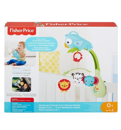 Movil Musical 3 en 1 Azul Fisher-Price