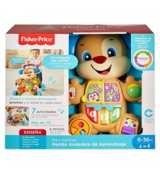 Perrito Andadera Fisher-Price Azul