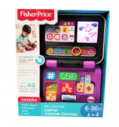 Laptop Aprende Conmigo Fisher-Price