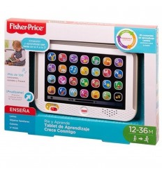 Tablet de aprendizaje Fisher- price-Negra
