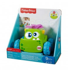 Monstruo presiona y persigue Fisher-Price verde