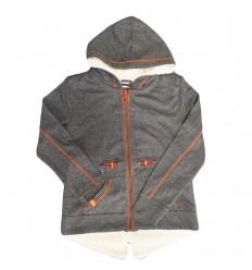 Abrigo mayoral para niño gris