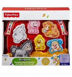 Rompecabezas sonidos animales-Fisher-Price