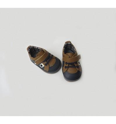 Zapato no tuerce niño combinado