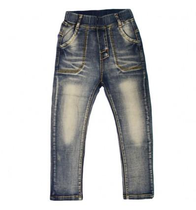 Pantalon jean para niño samblasting
