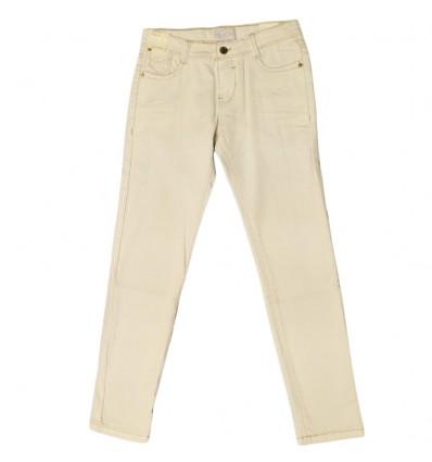 Pantalon jean mayoral para niño- Blanco hueso
