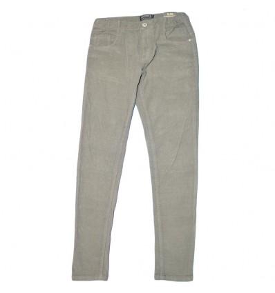 Pantalon en pana para niño mayoral- Gris
