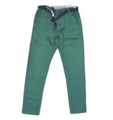 Pantalon en dril para niño mayoral-verde
