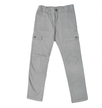 Pantalon en dril para niño mayoral- Gris
