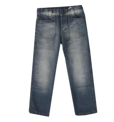 Pantalon jean ancho para niño