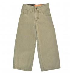 Pantalon para niño bota ancha-Gris
