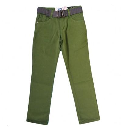 Pantalon en dril para niño- Verde