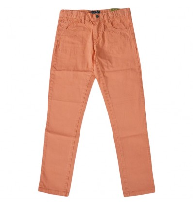 Pantalon en dril para niño mayoral-Salmon