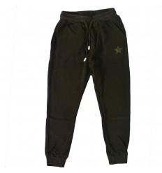 Pantalon sudadera para niño- Negra