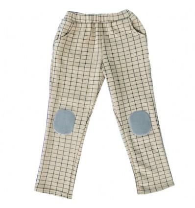 Pantalon en algodon perchado para niño