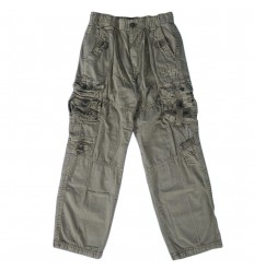 Pantalon cargo para niño- Verde
