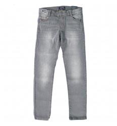 Pantalon dril acanalado para niño- Gris