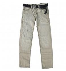 Pantalon dril para niños estampado lineas