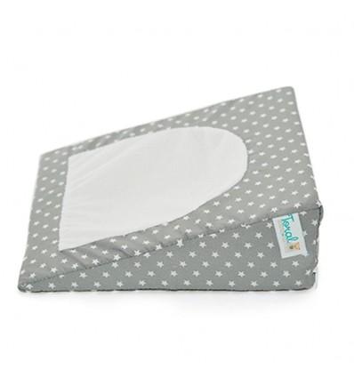 Almohada antireflujo para bebé- gris