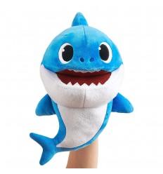 Titere Baby shark musical peluche-azul