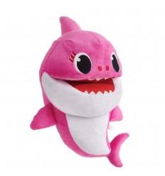 Titere Baby shark musical peluche- Rosado