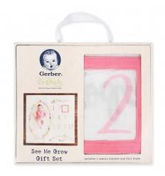 Conjunto de regalo Verme crecer- rosa