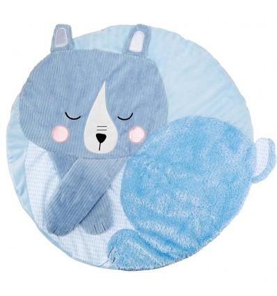 Tapete de actividades táctil para bebé- Azul